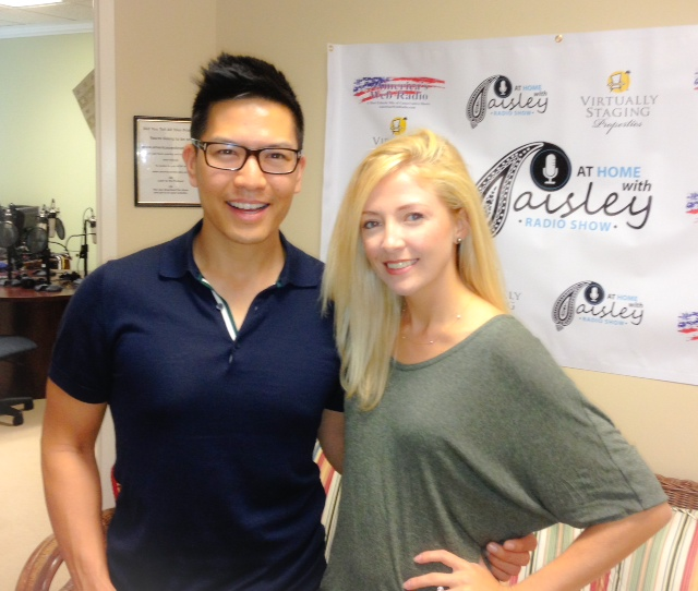 herman chan sf realtor with radio host paisley