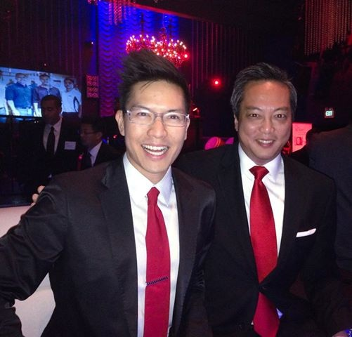 Herman Chan AREAA Ivan Choi 2014 National Chair